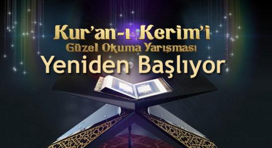 TRT 1 Kuran yarışması