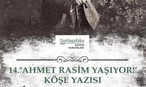 Ahmet Rasim Yaşıyor Köşe Yazısı Yazma Yarışması
